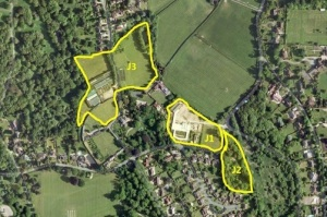 Ashtead Map J1 J2 J3