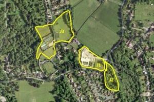 Ashtead Map J1 J2 J3